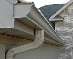 Brand New Cream Gutters and Downpipes