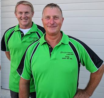 Business Partners John Ryan (left) and Doug Mey (right)